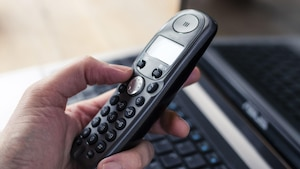 Ein IP-Telefon ist im ganzen Haus einsatzbereit.