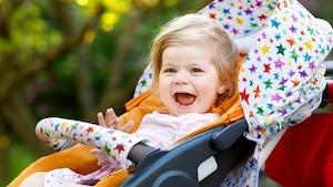 Der Kinderwagen muss für Sie und Ihr Kind passend sein.