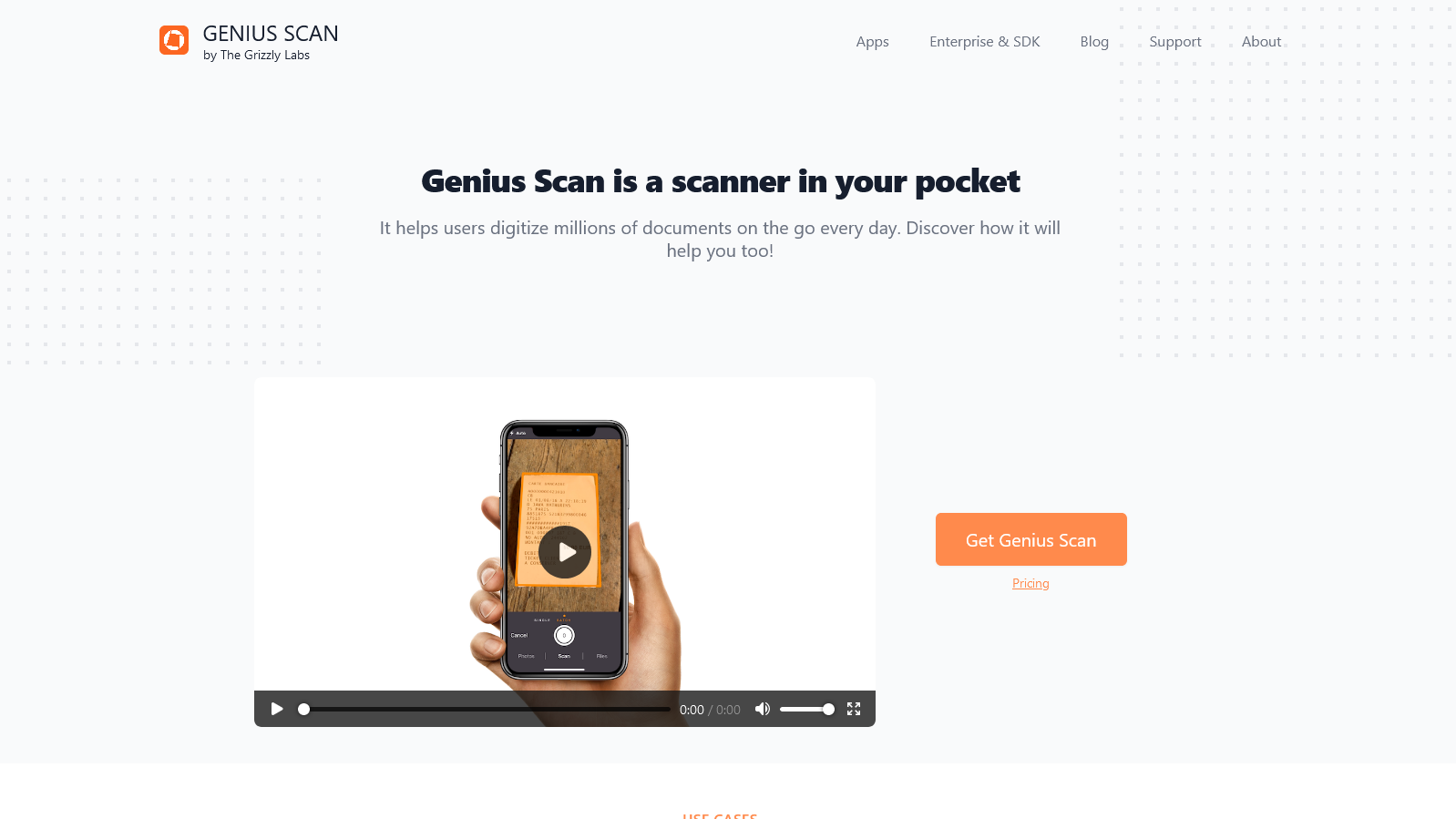 Genius Scan: Dokumenten-Scanner für iOS