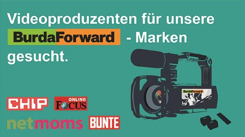 Videos produzieren als Nebenjob: BurdaForward sucht Video-Produzenten (m/w/d)