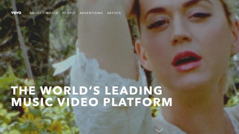 Vevo ist eine YouTube-Alternative für Musikvideos.