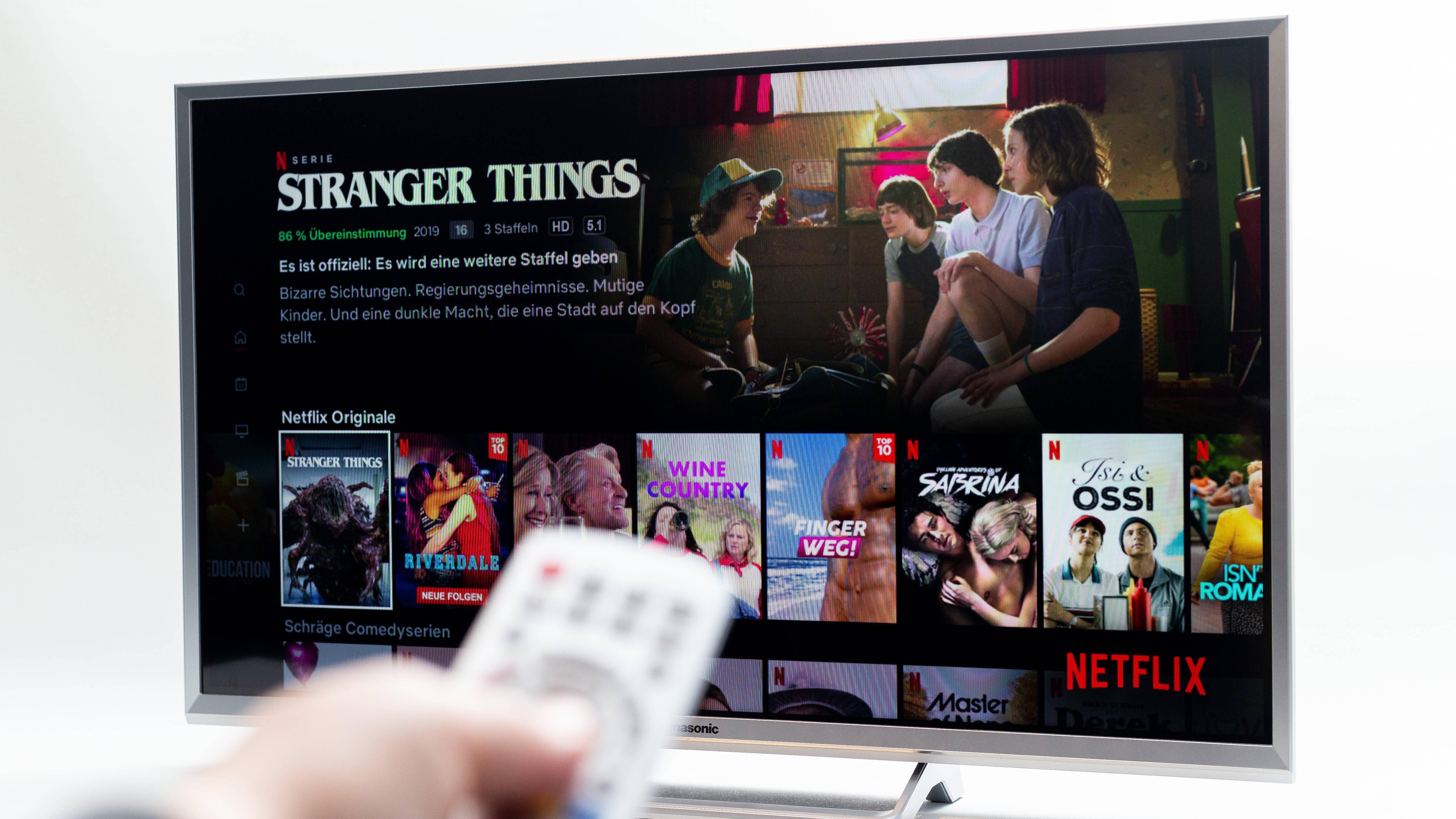 Samsung TV: Von Netflix abmelden - so geht's