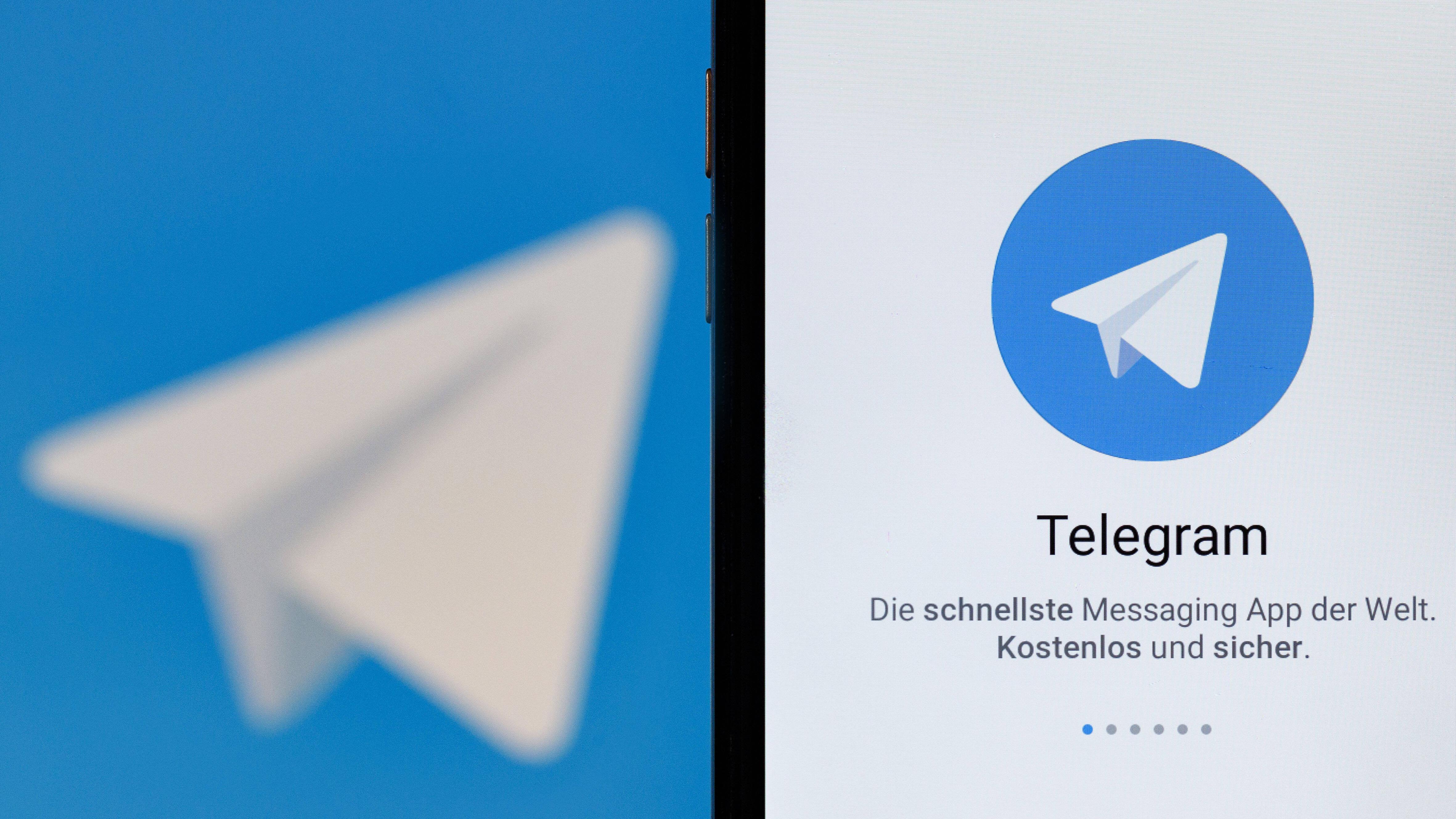 Das Anmelden bei Telegram ist sehr einfach.