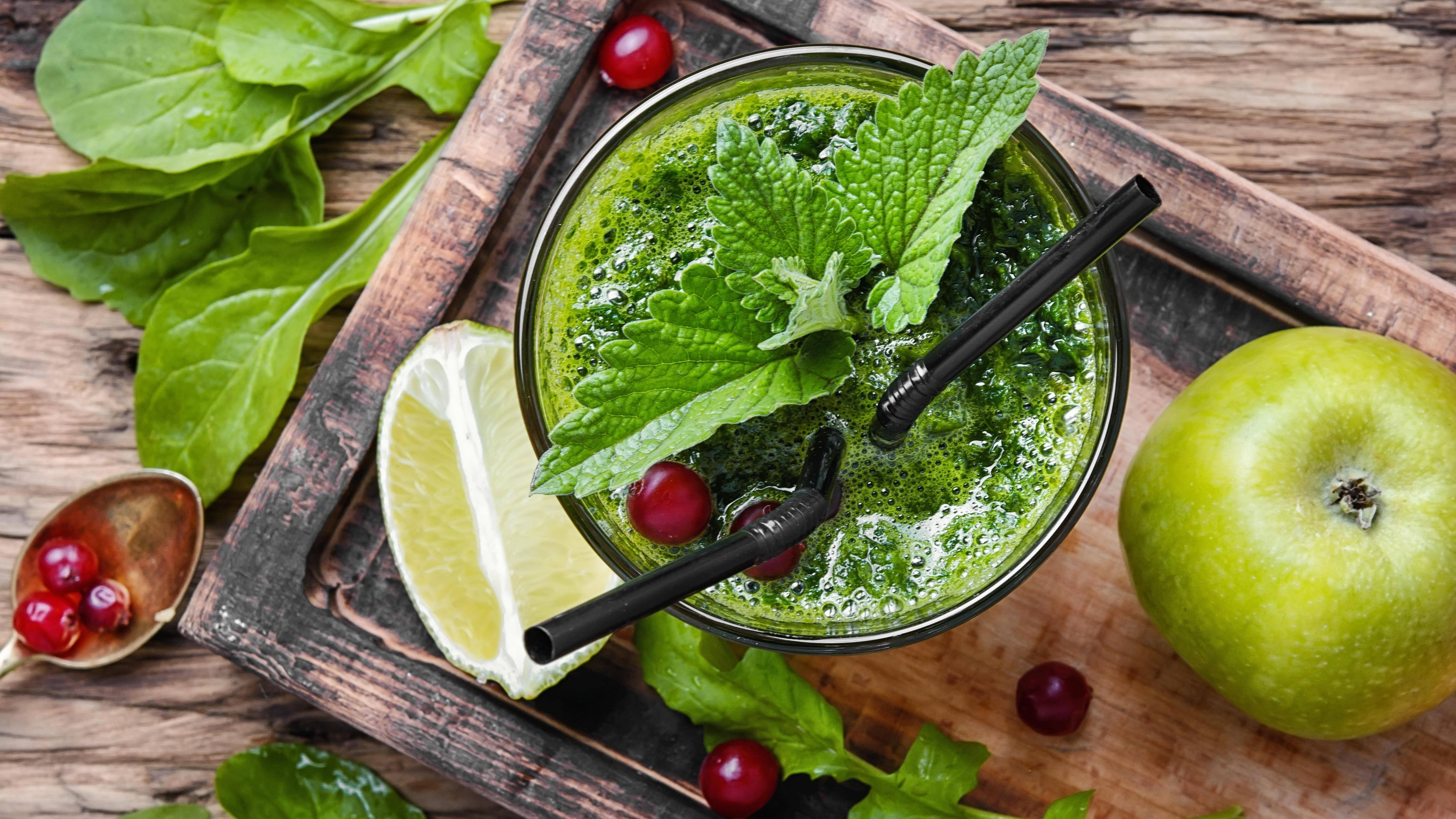 Der grüne Melonen-Smoothie hat den Effekt, dass er die Denkleistung erhöht.