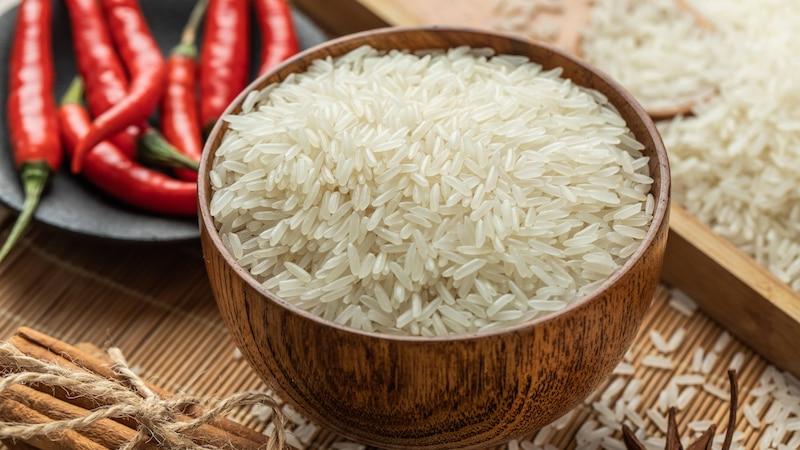 Die Haltbarkeit von Reis kann bei richtiger Lagerung lange sein.