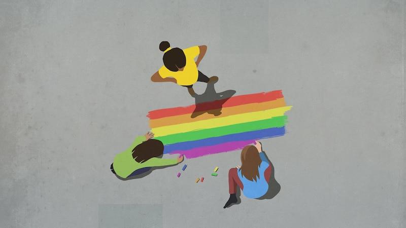 Regenbogenflagge: Diese Bedeutung steckt hinter der bunten Fahne
