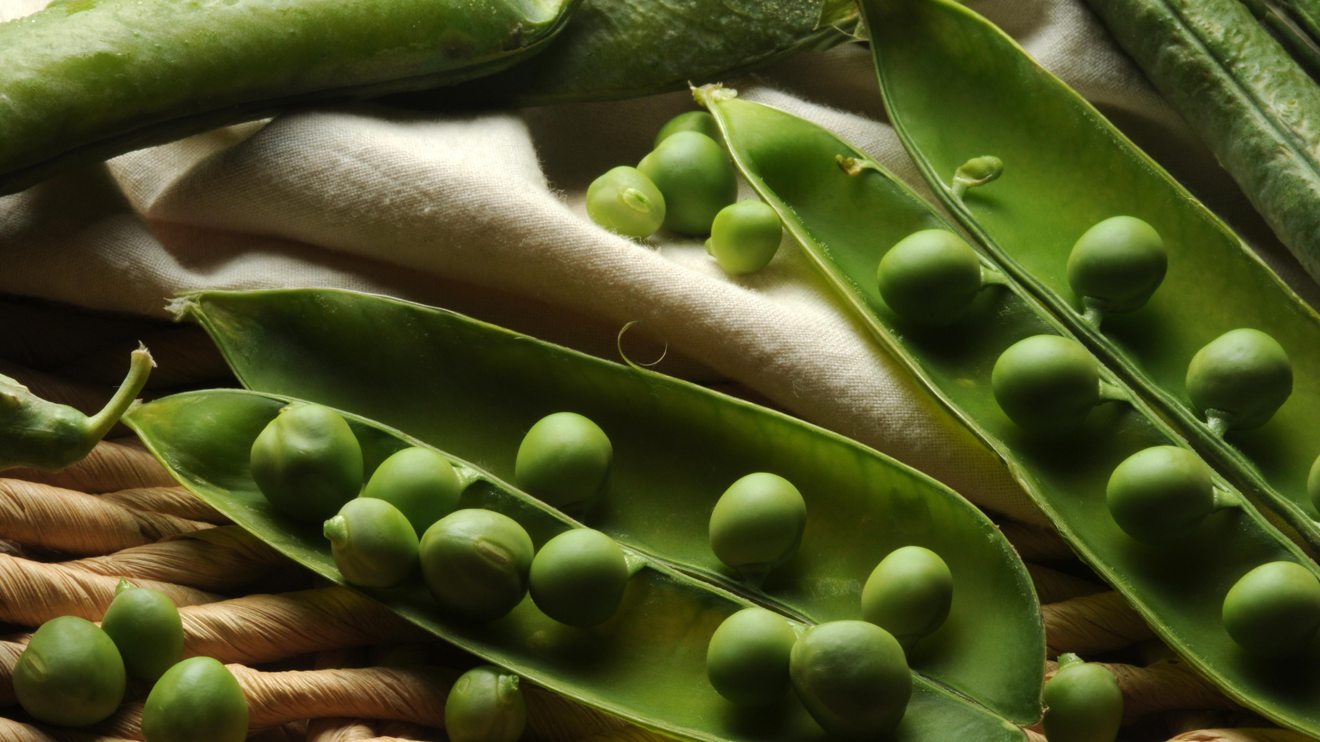 Erbsen roh essen: Das sollten Sie wissen