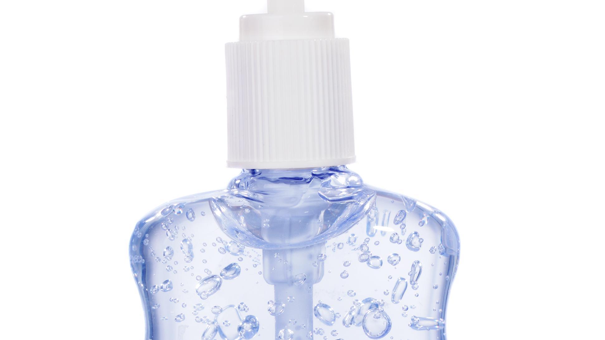 Desinfektionsmittel selber machen und in Flasche abfüllen
