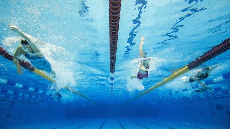 Olympiadisziplin: Schwimmen