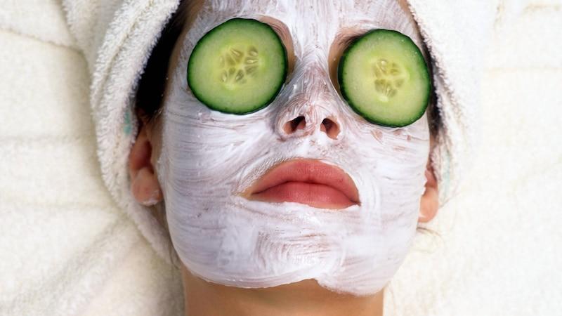 Gesichtsmaske - vor oder nach dem Duschen auftragen?