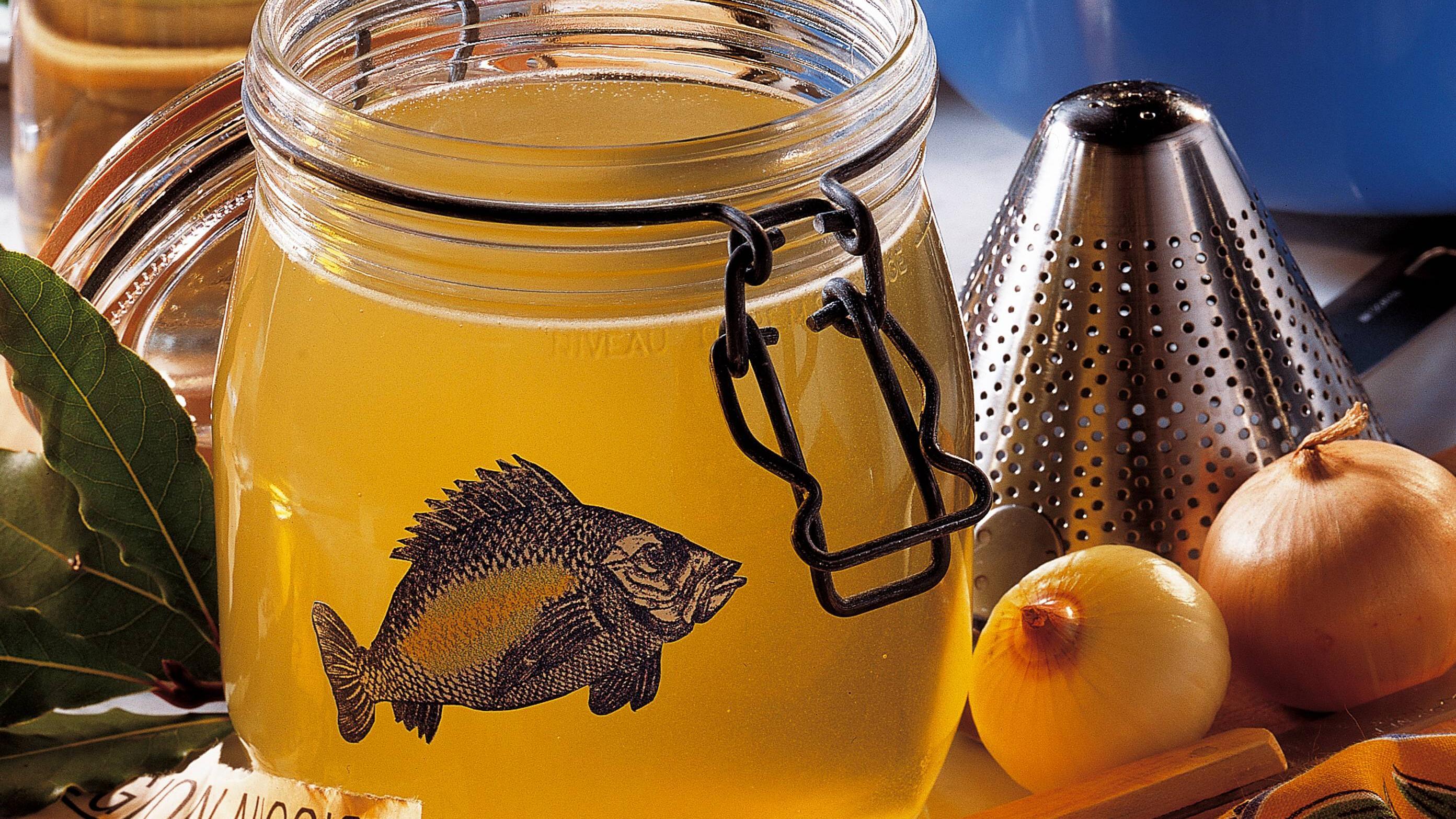 Fischfond kochen - ganz einfach selbst gemacht