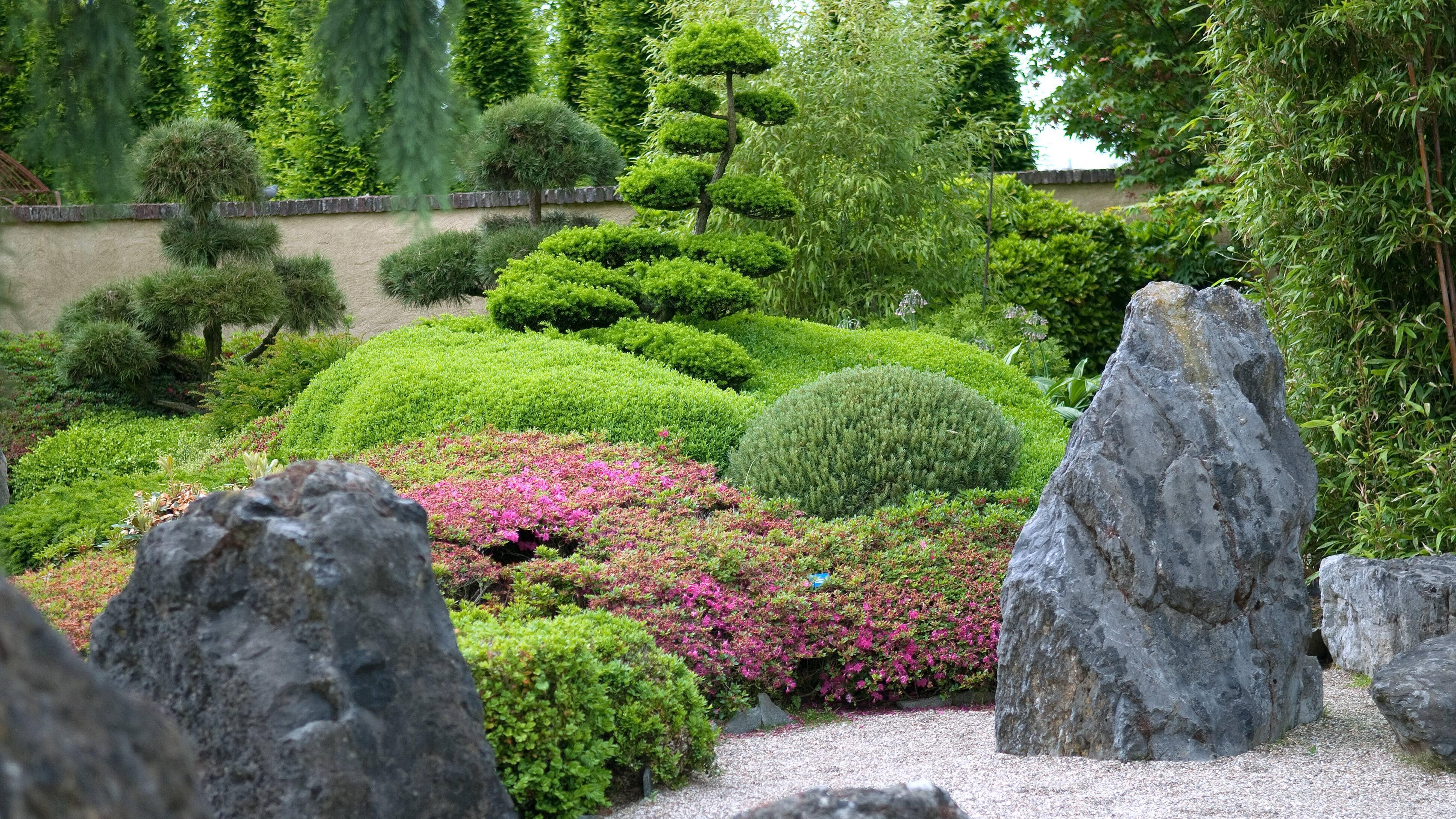 Für den japanischen Garten gibt es viele Gestaltungsideen.