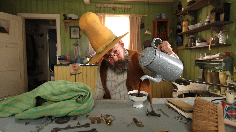Pettersson in seiner Küche.