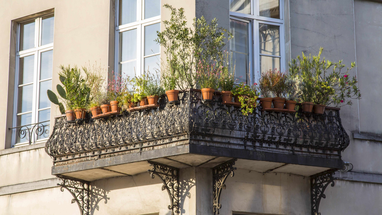 Sturm und Gewitter: So machen Sie Ihren Balkon sicher