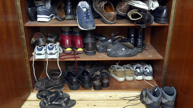 Tragen Sie nur Schuhe, die Ihnen gut passen.