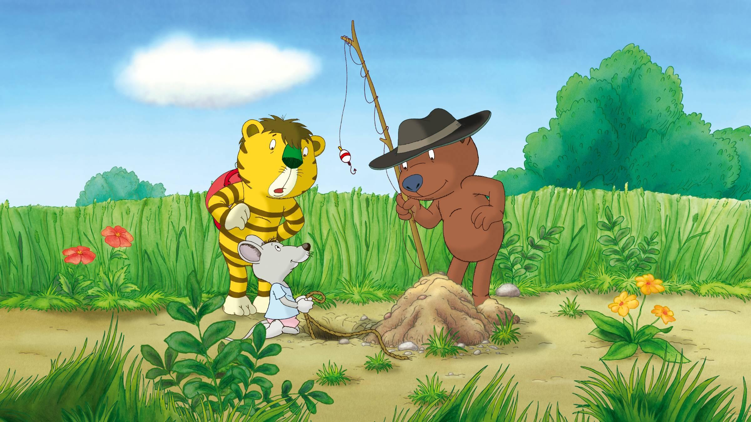 Der kleine Tiger und der kleine Bär auf der Suche nach Panama.