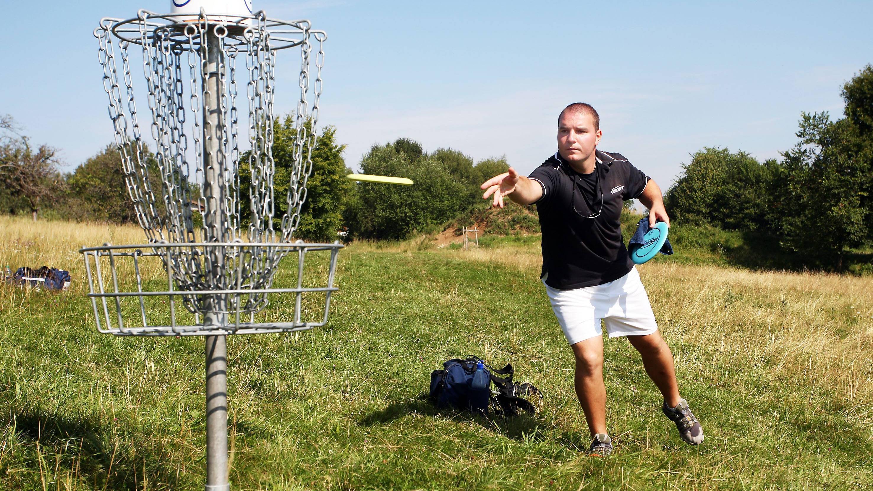 Discgolf: Das sind die Regeln des Frisbee-Spiels