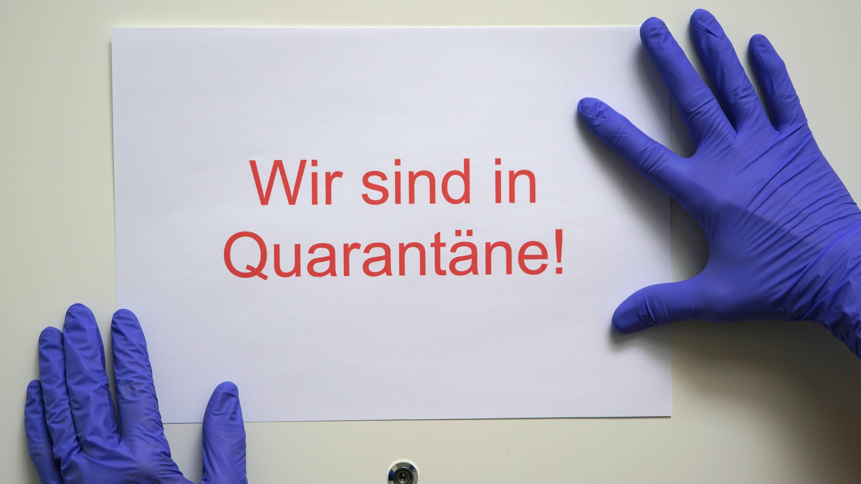 Positiv getestete Kinder müssen in Quarantäne