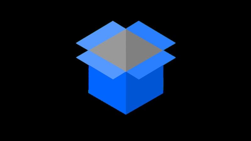 Das Dropbox Icon