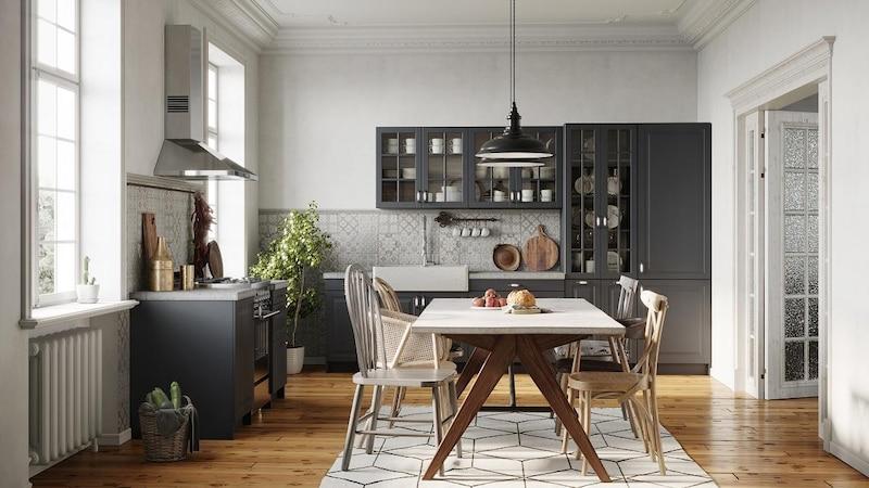 Neue Küche im modernen Stil