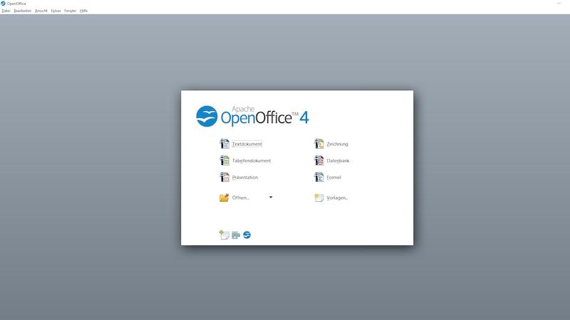 OpenOffice ist wohl der Klassiker unter den Alternativen Office-Programmen