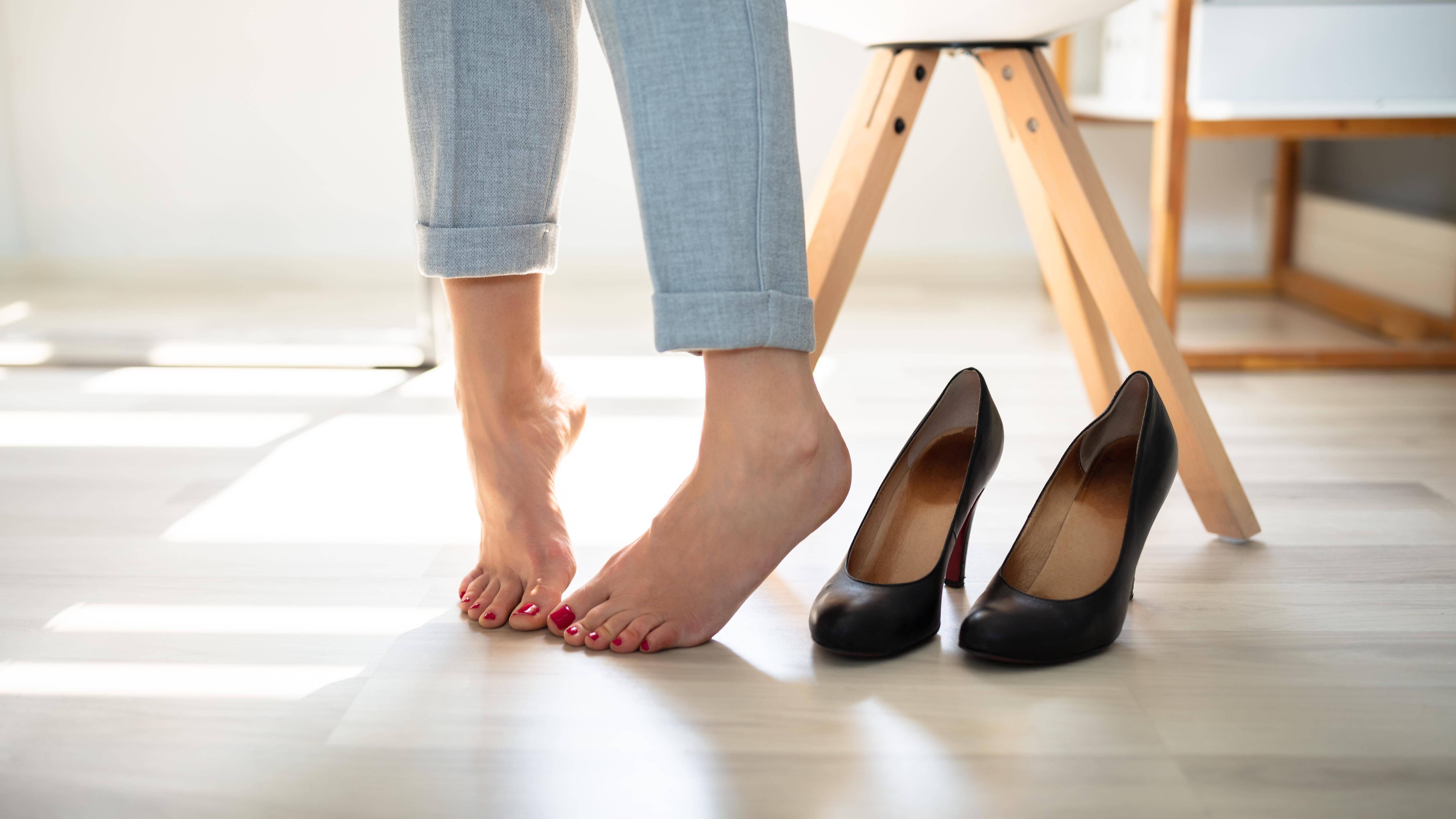 Sind Ihre Schuhe zu klein, gibt es hilfreiche Tipps