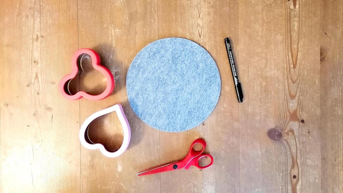 Untersetzer aus Filz basteln - Das brauchen Sie dazu