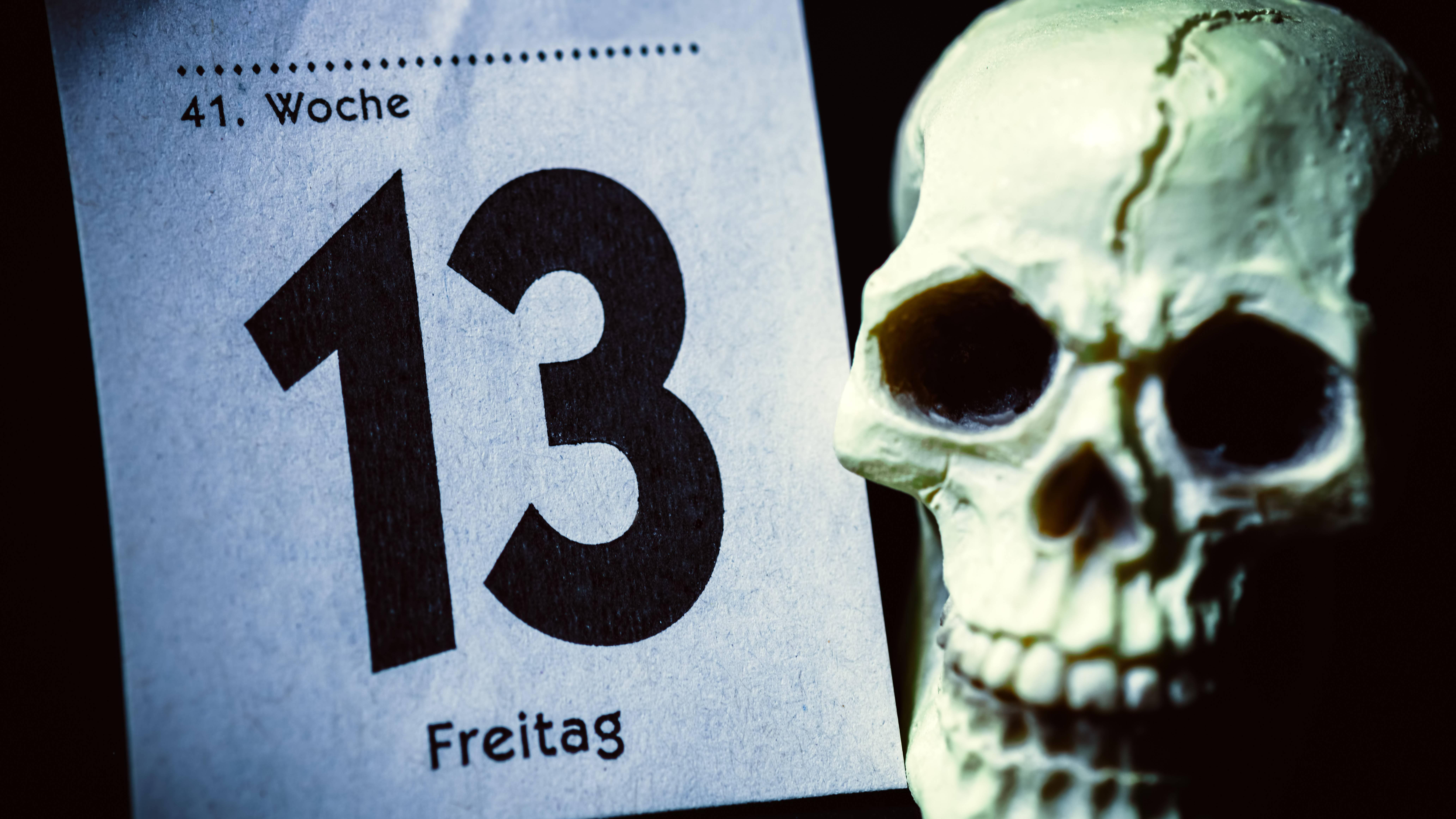 Für abergläubische Menschen ist Freitag, der 13. gruselig