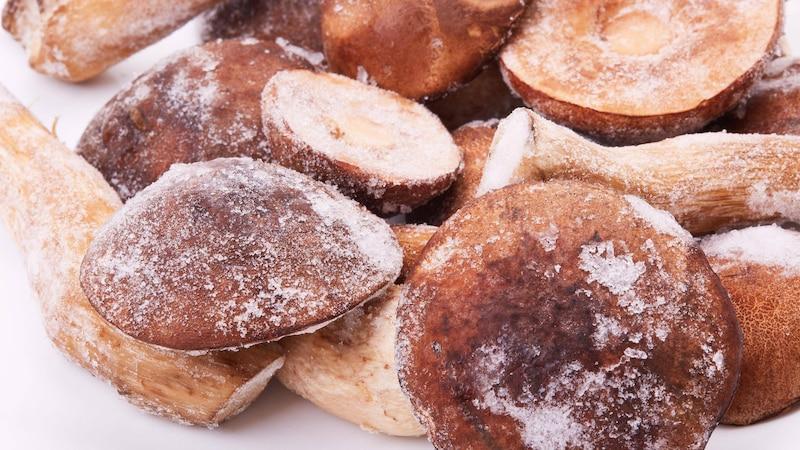 Pilze einfrieren: Anleitung und Tipps