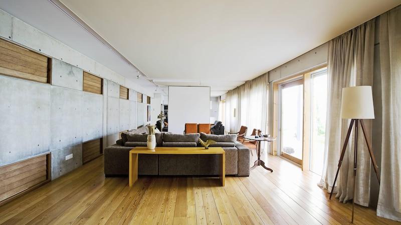 Auch ohne viel Deko können die eigenen vier Wände gemütlich eingerichtet werden.