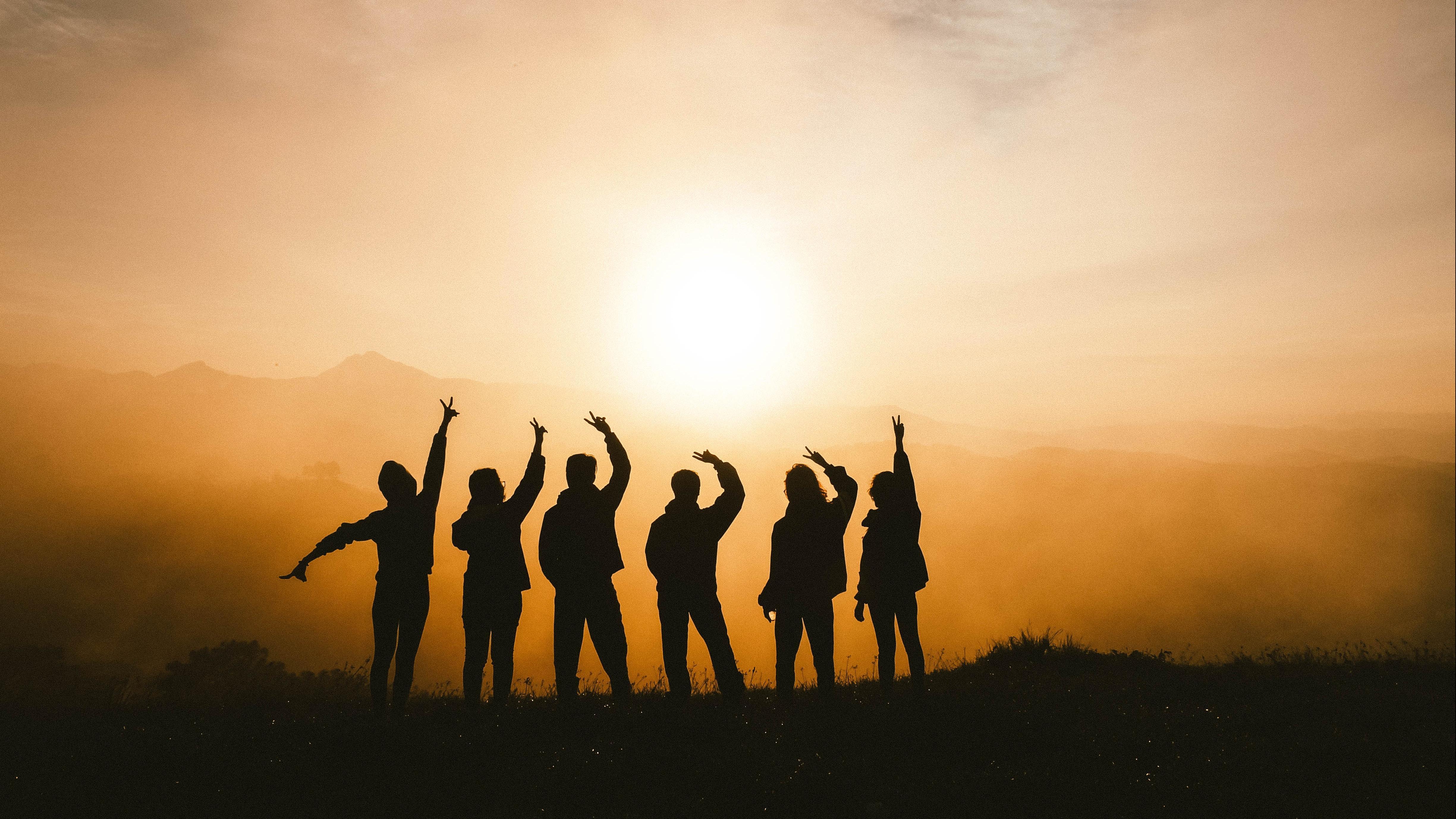 Als Gruppe fühlt man sich oft stärker.