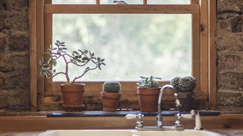 Mit etwas Deko peppen Sie Ihre Fensterbank im Handumdrehen auf.