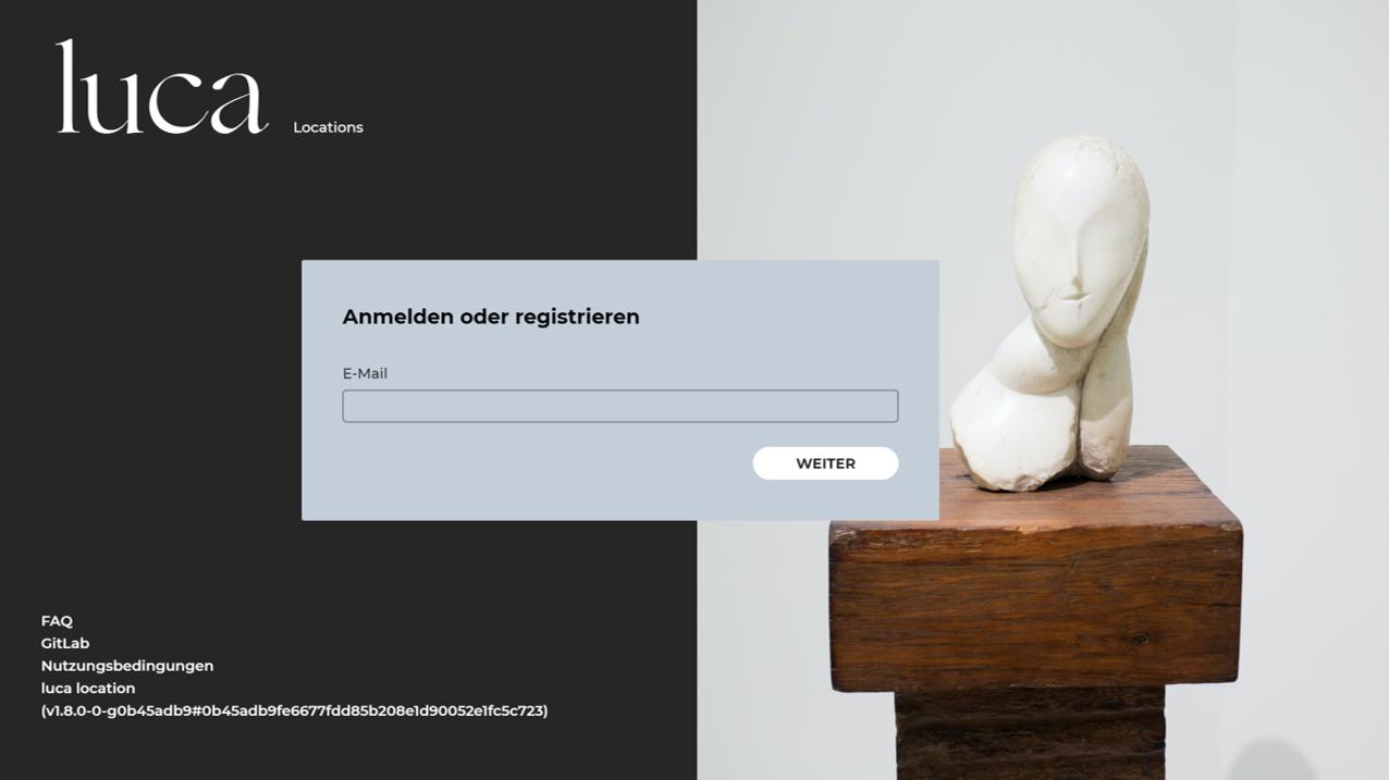 Mit Luca Locations erstellen Sie einen QR-Code für Ihr Geschäft