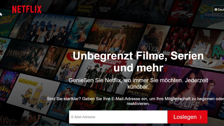 Der beliebte Streamingdienst Netflix