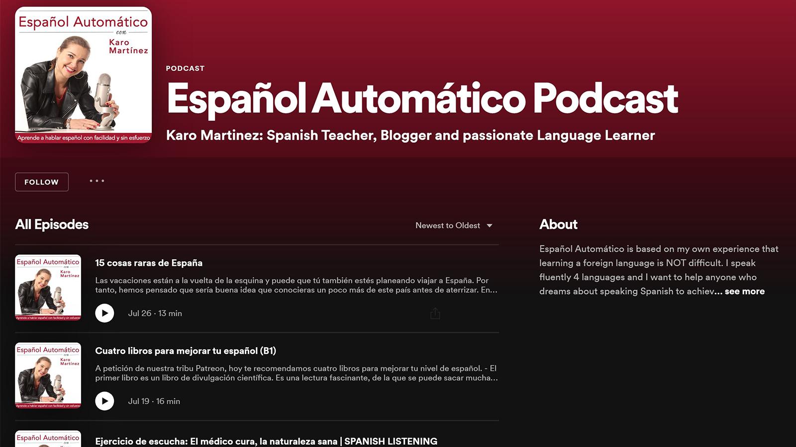 Mit Podcast können Sie Fremdsprachen ganz einfach lernen, auch während Sie in den Urlaub fahren.