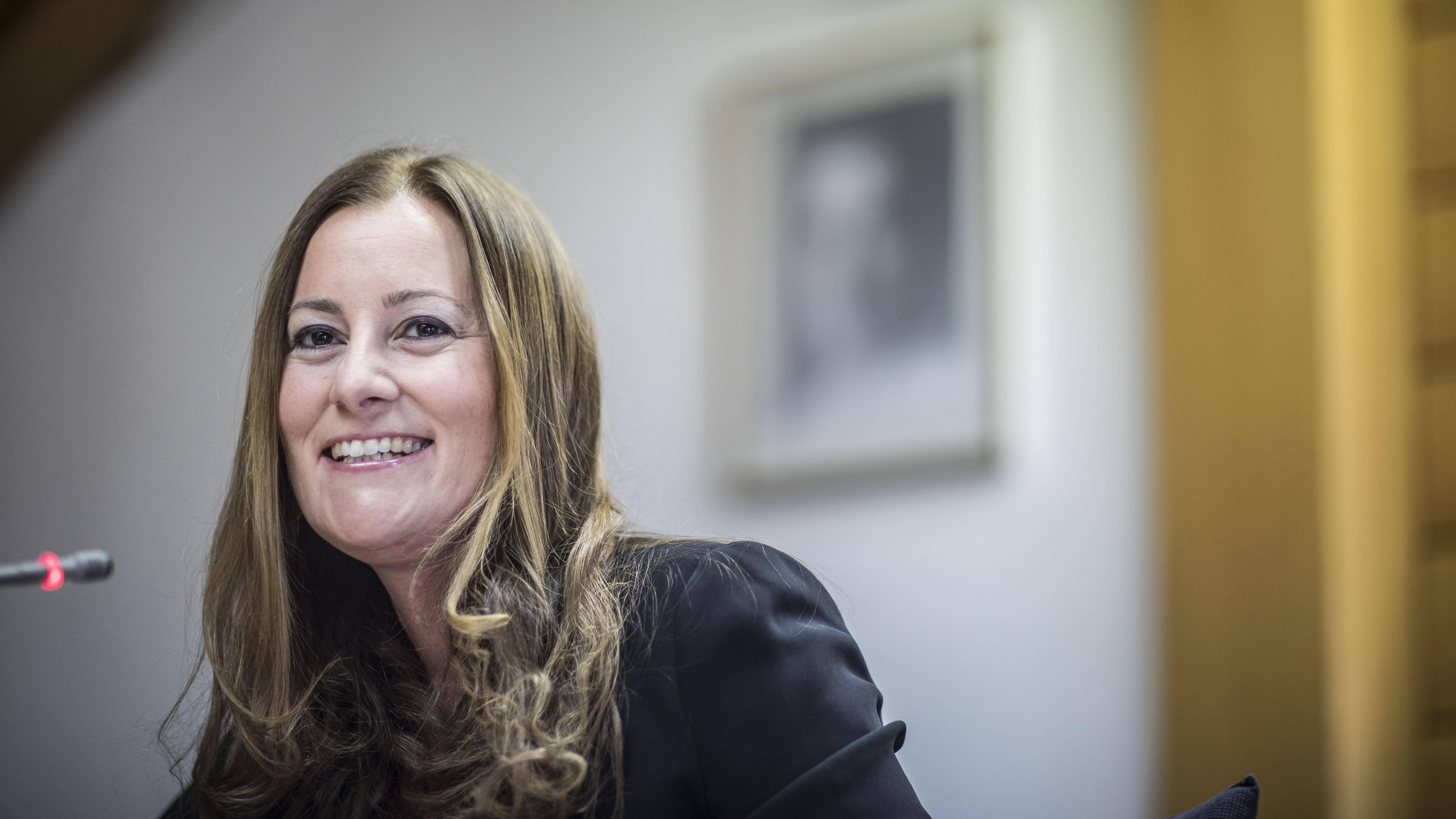 Janine Wissler, Die Linke: Das Parteiprogramm ist online auch auf Spotify