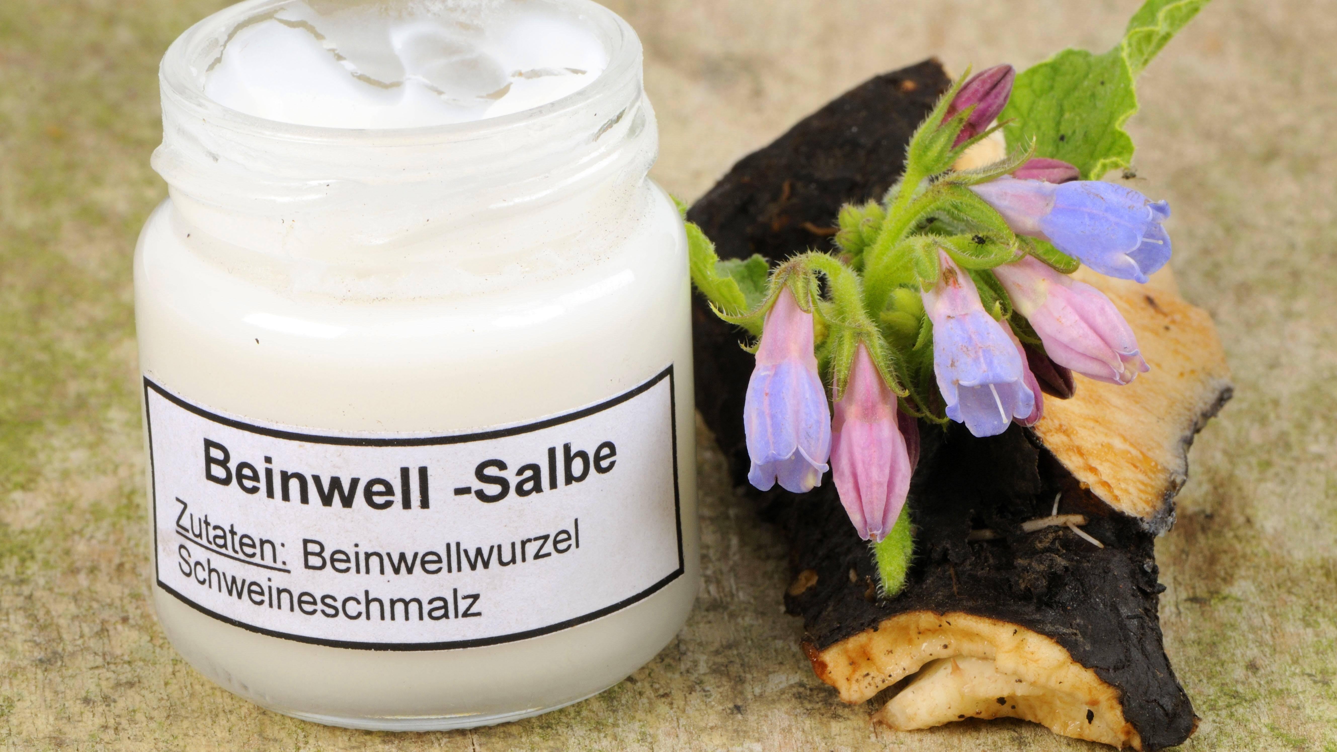 Beinwell-Salbe selber machen: Anleitung und Hinweise zur Wirkung