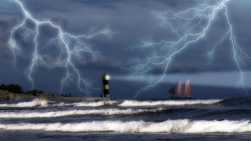 Ein traumatisches Erlebnis, wie etwa ein Sturm während einer Schifffahrt, kann die Thalassophobie begünstigen.