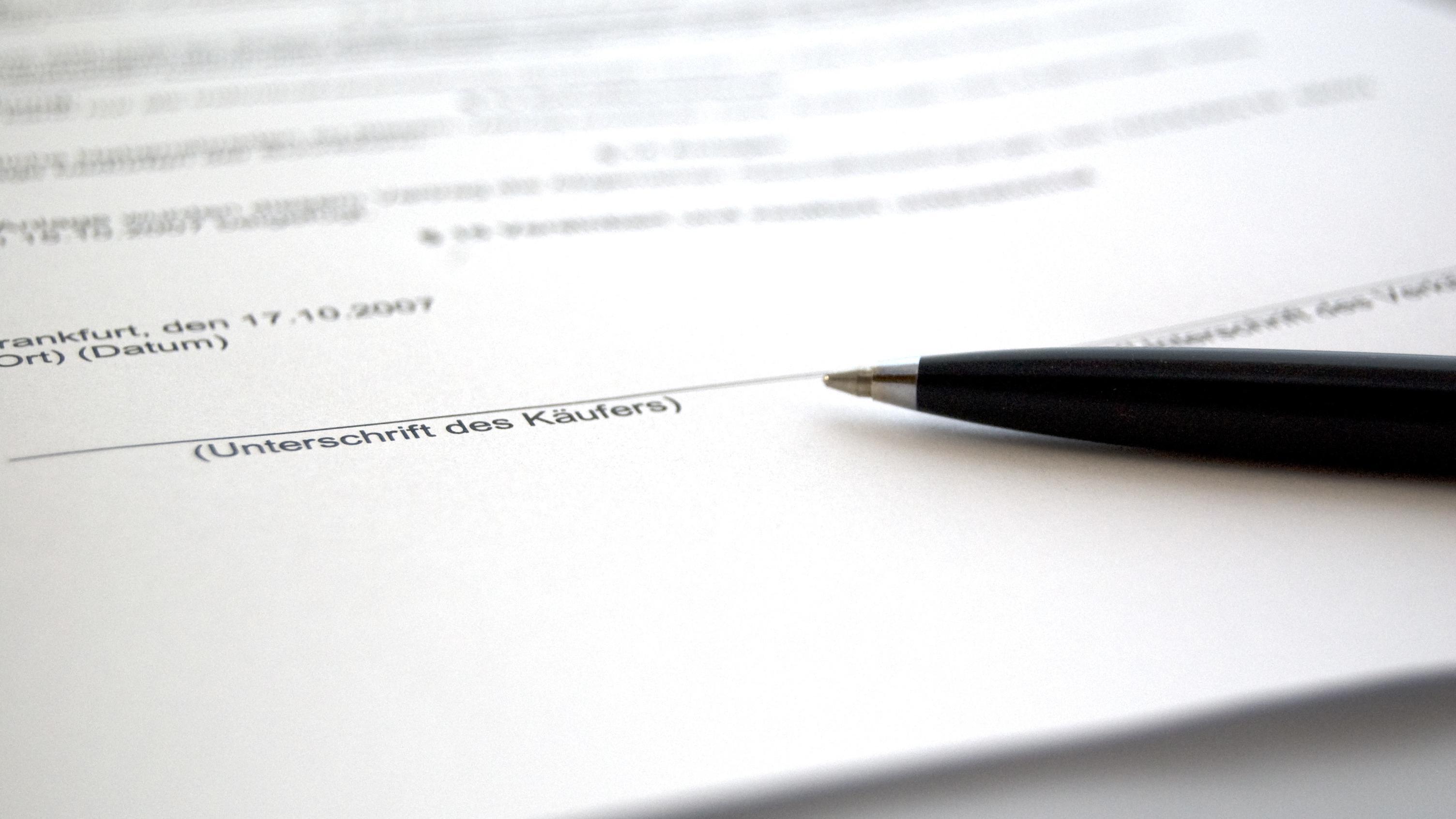Unterschrift in PDF einfügen - so geht's