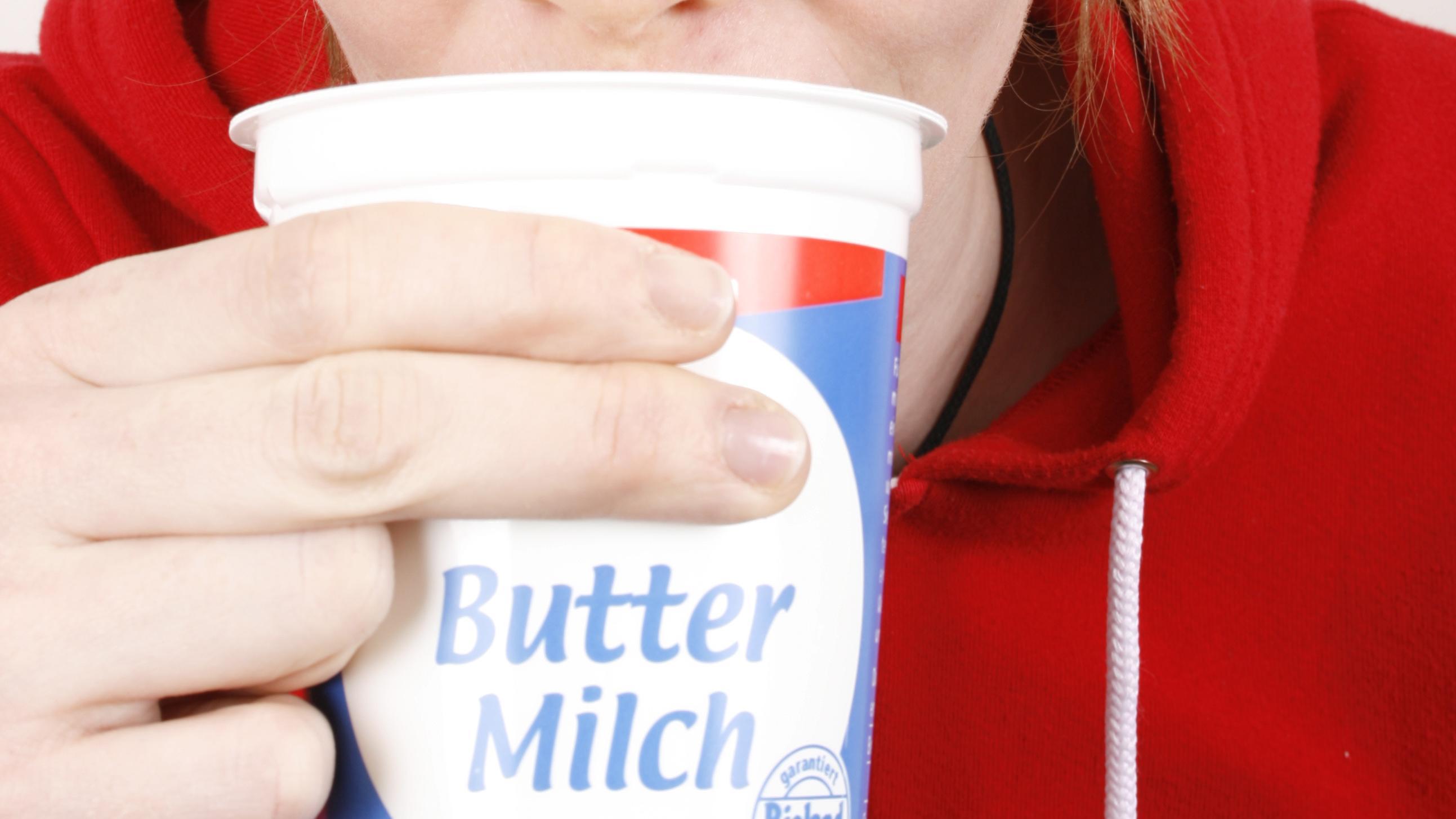 Buttermilch enthält wertvolle Inhaltsstoffe