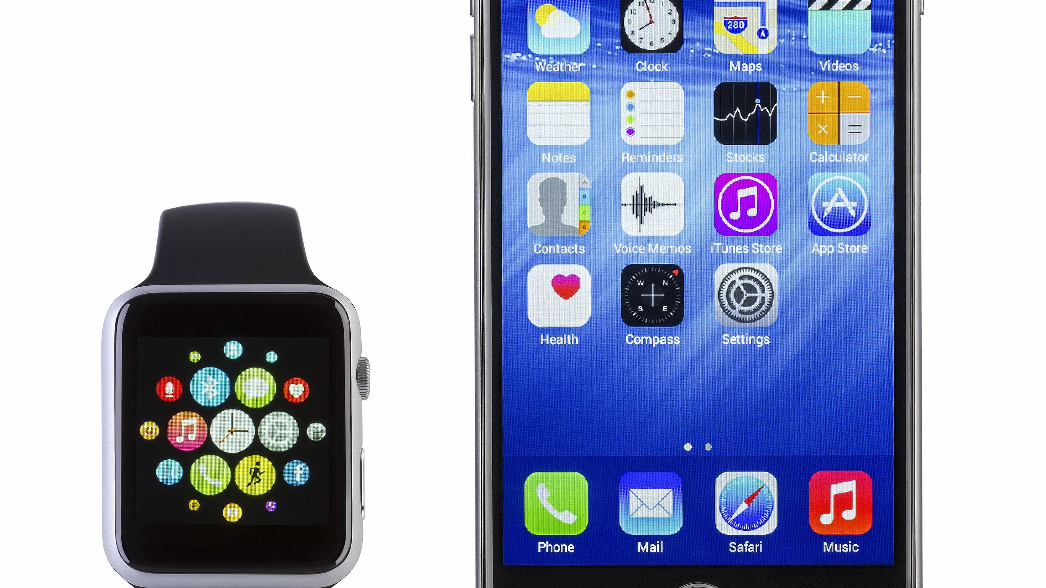 Apple-Watch-Icon vom Startbildschirm entfernen