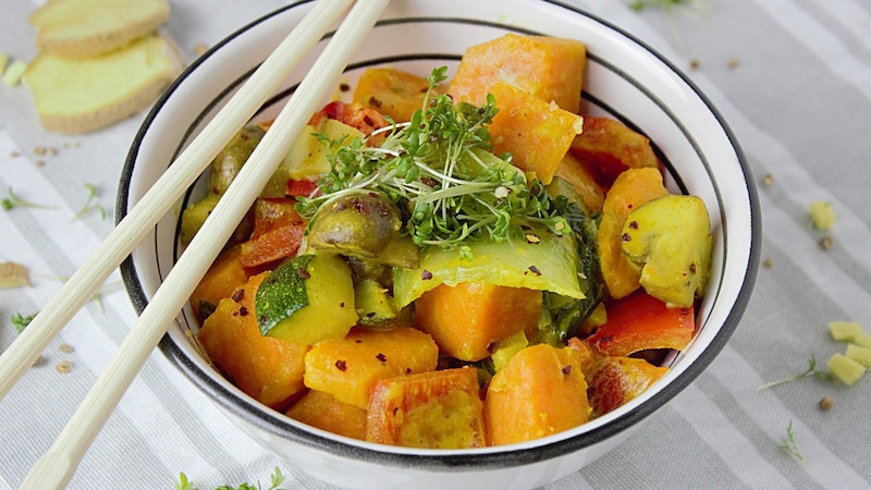 Eine leichte Schärfe ist vor allem in der Asiatischen Küche beliebt.