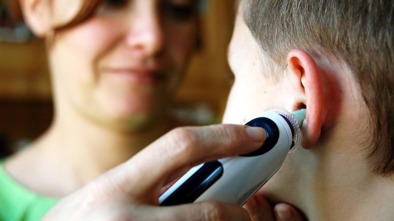 Fieber messen im Ohr - darauf sollten Sie achten