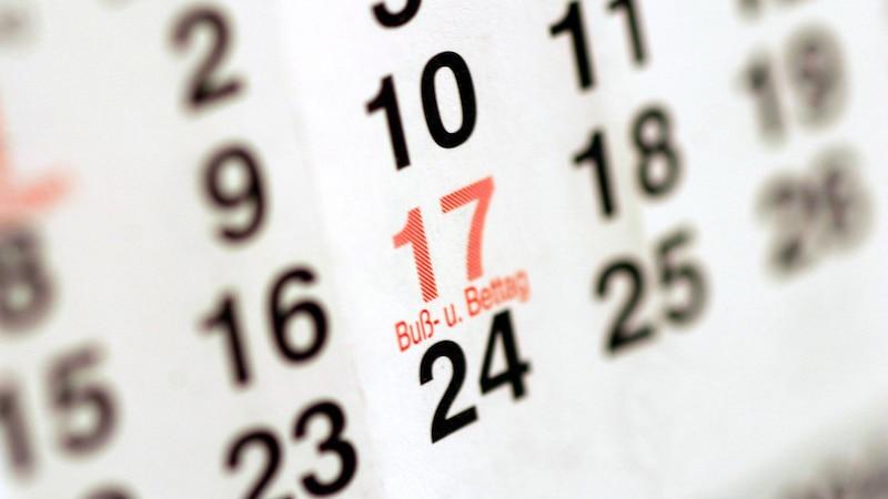 Buß- und Bettag als Feiertag: In diesen Bundesländern ist er 2020 frei