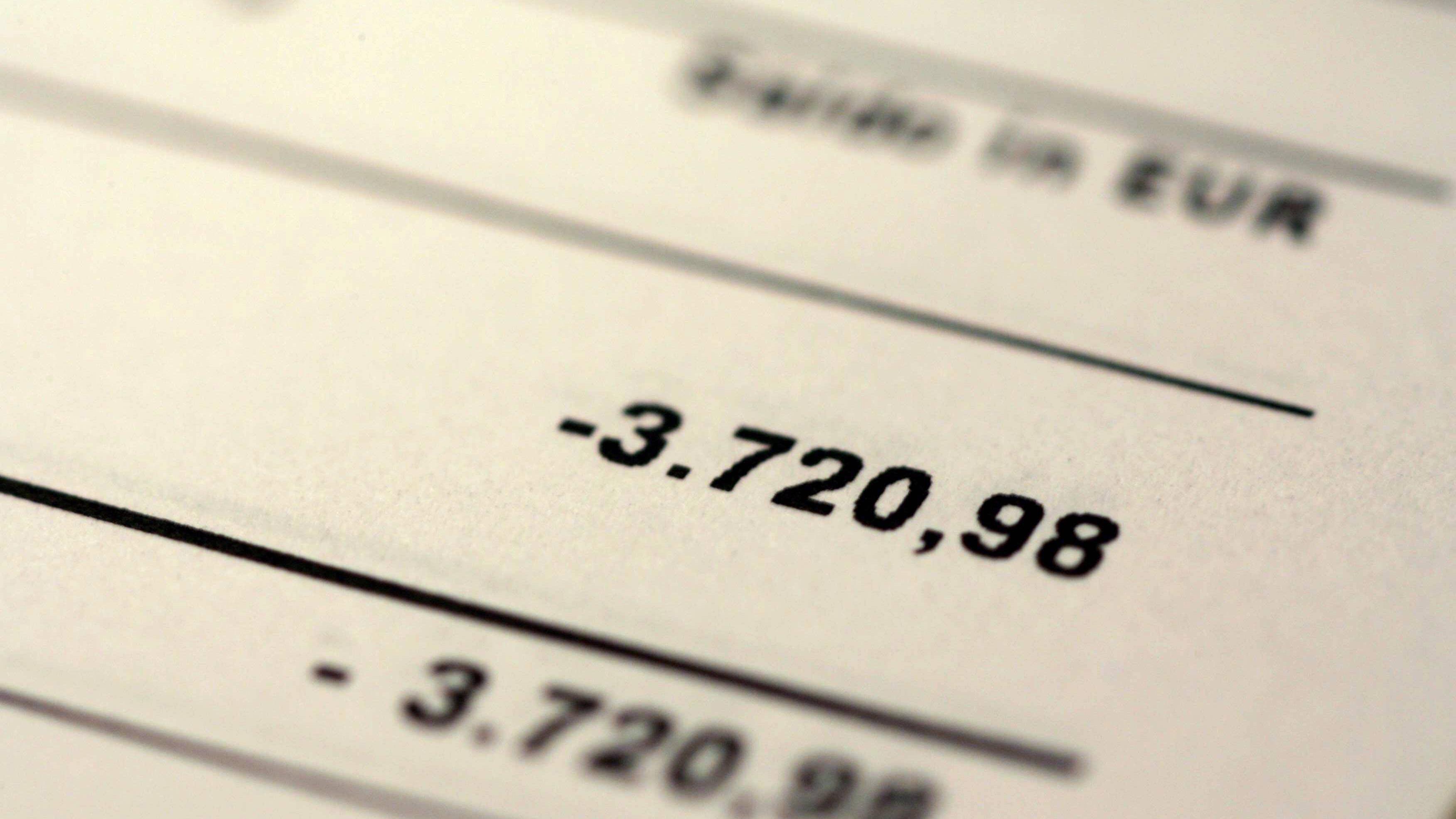 Konto nicht gedeckt - das passiert bei Zahlungen und Lastschriften