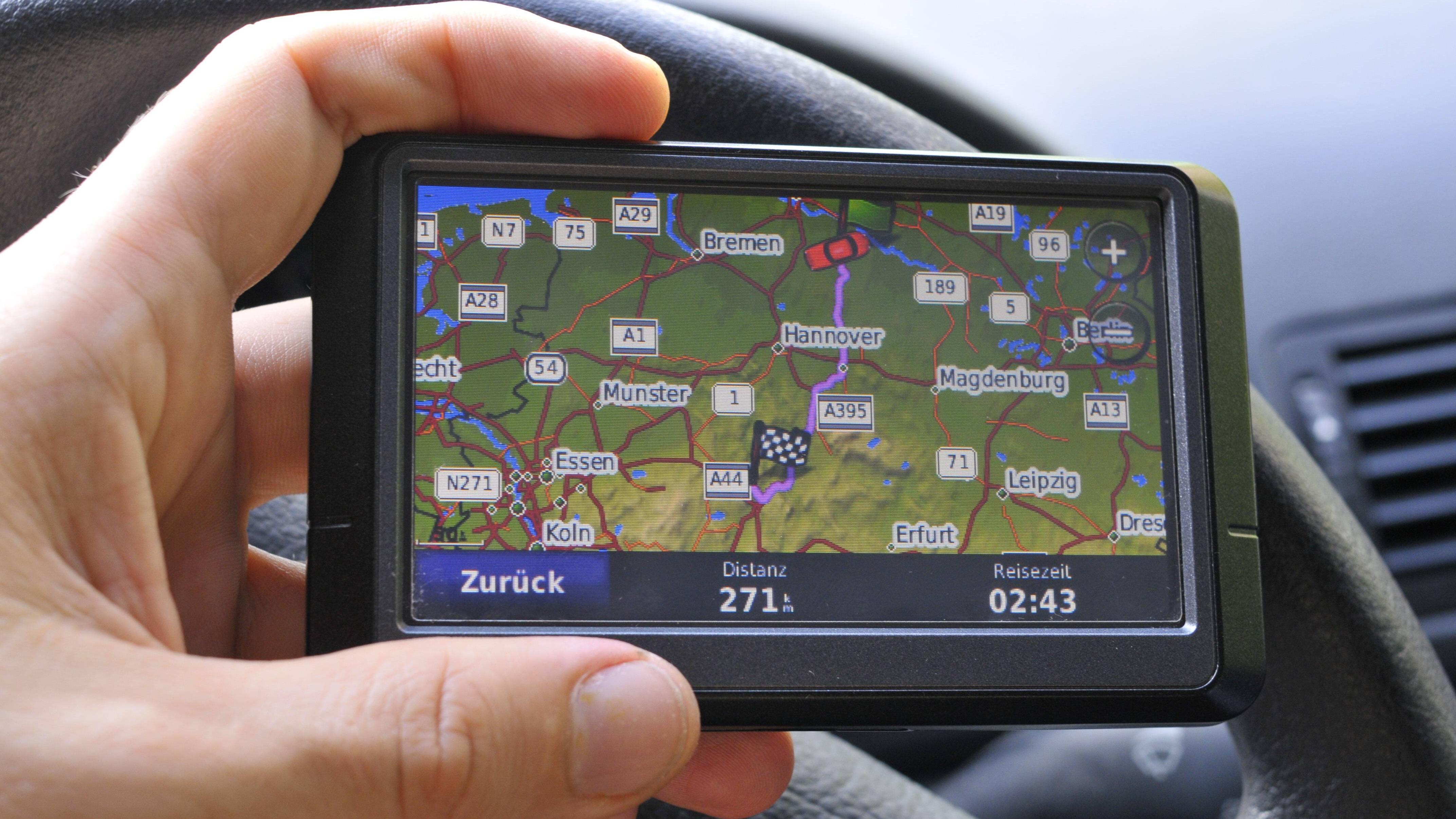 GPS ist vor allem für heutige Navigationssystem von Bedeutung.