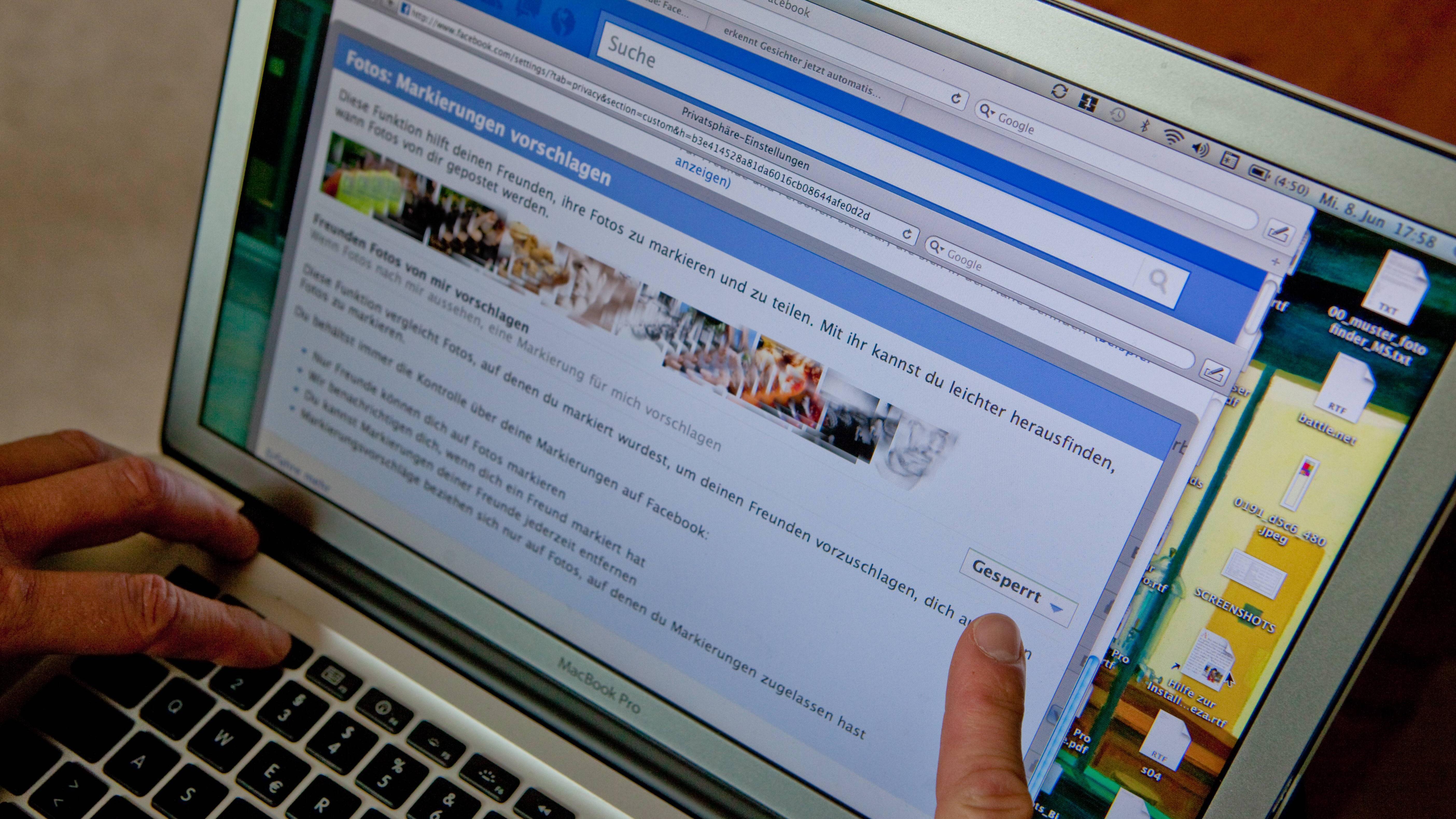Facebook-Profil in der Google-Suche verbergen