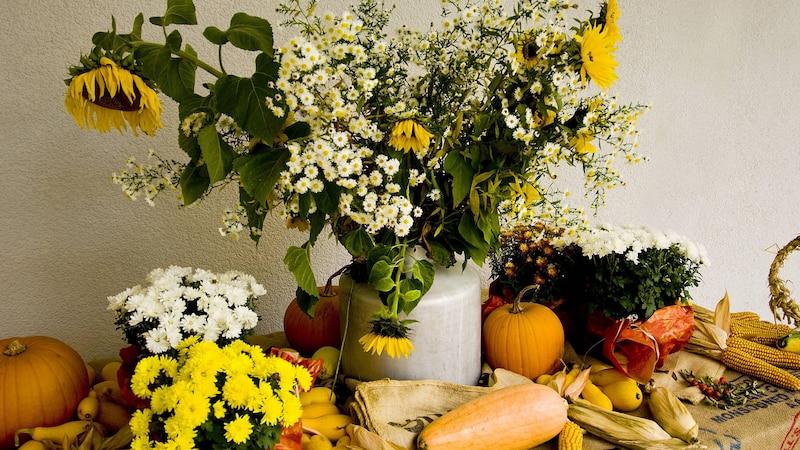 Tischdeko für den Herbst - 3 kreative Ideen