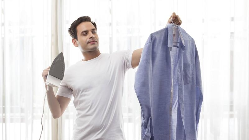 Hemd bügeln: So einfach geht's