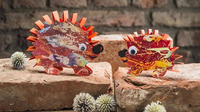 Tiere aus Papptellern zu basteln ist ein großer Spaß für Kinder und Eltern.